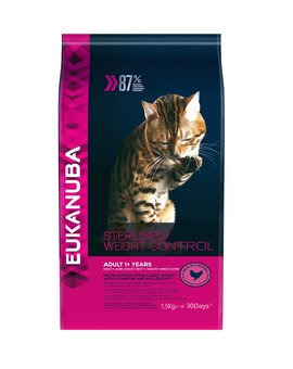 Cat Veterinary Diets dry weight diabetic control adult all breeds 1.5 kg