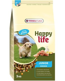 Happy life junior chicken 3 kg