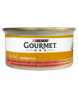 Gold kaczka i indyk w brązowym sosie 85 g