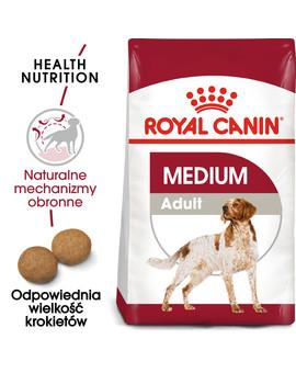 Medium Adult 15 kg karma sucha dla psów dorosłych, ras średnich