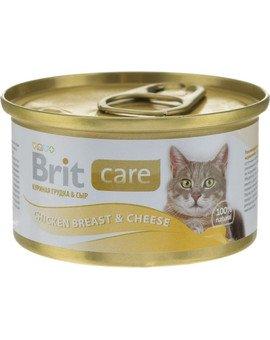 Puszka 80 g kot z kurą i serem