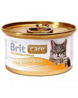 Puszka 80 g kot z tuńczykiem marchewką i groszkiem