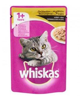 Mokra karma dla kotów smaki drobiowe 24 x 100 g