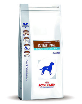 Dog gastro intestinal moderate calorie 14 kg