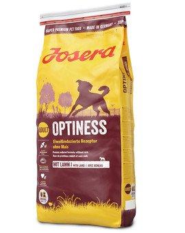 Dog Optiness z jagnięciną dla wrażliwych psów 15 kg