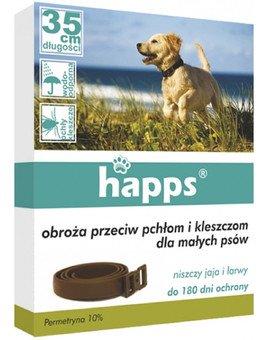 Obroża przeciw pchłom i kleszczom dla małych psów