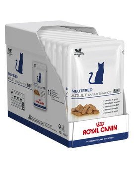 Cat neutered adult maintenance saszetka 12 x 100 g