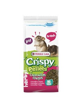 Crispy Pellets Chinchillas&Degus 25kg Granulat Dla Szynszyli I Kosztaniczek 3 mm