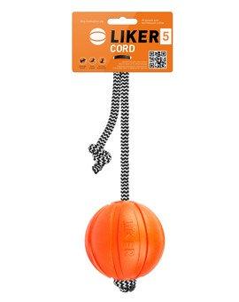 CORD Dog toy piłka na sznurku dla psa 5 cm
