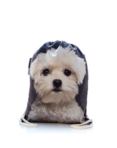 Plecak worek z nadrukiem Maltańczyk