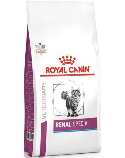 Cat renal special 0,4 kg sucha karma dla kotów do stosowania w przypadku przewlekłej lub ostrej niewydolności nerek