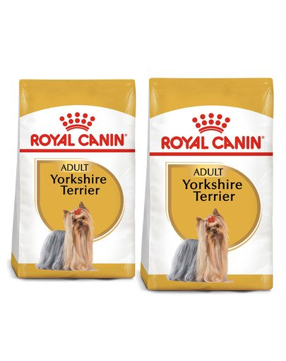 ROYAL CANIN Yorkshire Terrier Adult 15 kg (2 x 7.5 kg) karma sucha dla psów dorosłych rasy yorkshire terrier