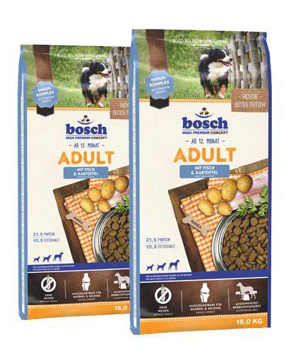 BOSCH Adult ryba i ziemniaki 30 kg (2 x 15 kg)