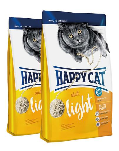 HAPPY CAT Fit & Well light 20 kg (2 x 10 kg)