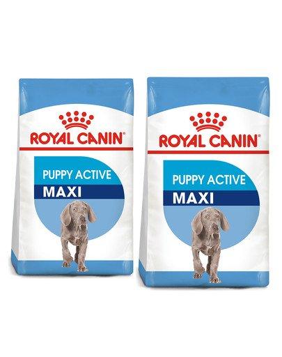ROYAL CANIN Maxi Puppy Active 30 kg (2 x 15 kg) karma sucha dla szczeniąt ras dużych o wyższym zapotrzebowaniu energetycznym