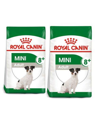 ROYAL CANIN Mini Adult 8+ 16 kg (2 x 8 kg) karma sucha dla psów starszych od 8 do 12 roku życia, ras małych