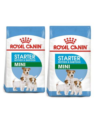 ROYAL CANIN Mini Starter Mother & Babydog 17 kg (2 x 8.5 kg) karma sucha dla suk w ciąży i okresie laktacji oraz szczeniąt, od 4 do 8 tygodnia, ras małych