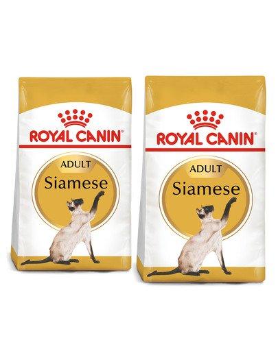 ROYAL CANIN Siamese Adult 20 kg (2 x 10 kg) karma sucha dla kotów dorosłych rasy syjamskiej