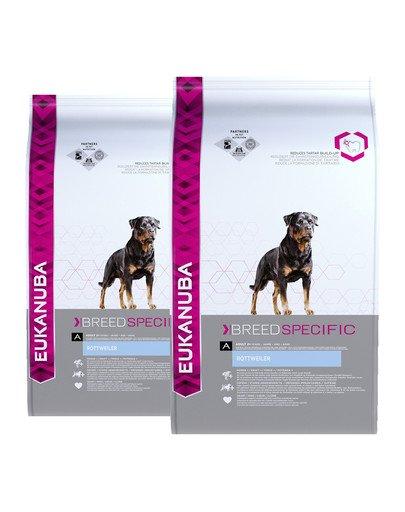 EUKANUBA Adult Breed Specific Rottweiler 24 kg (2 x 12 kg)