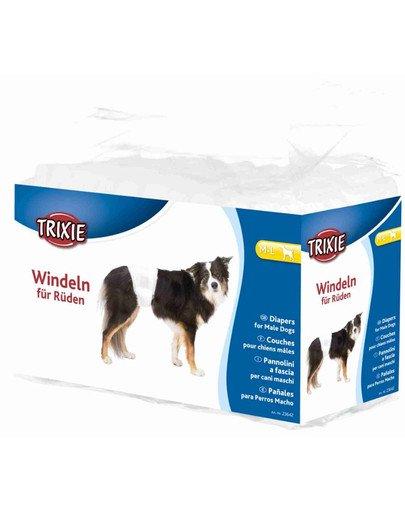 Pieluchy dla psów , M–L: 46–60 cm, 12 szt/opak.