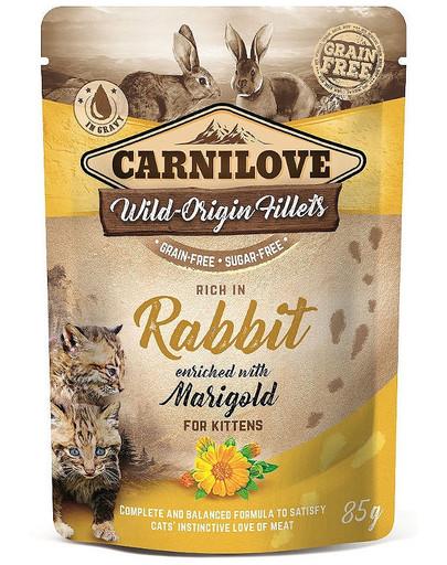 Cat Pouch Rabbit & Marigold 85g królik z nagietkiem
