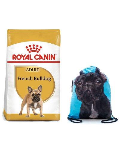 ROYAL CANIN French Bulldog adult 9 kg + plecak worek