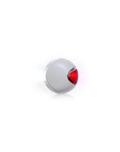 LED Lighting System light grey latarka do smyczy