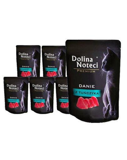 DOLINA NOTECI Premium Danie z tuńczyka dla kotów dorosłych 10x85 g