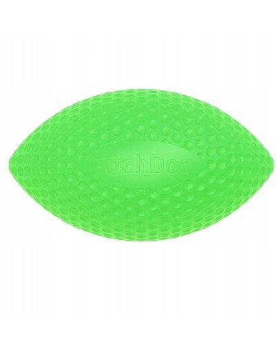 Pitch Dog sport ball green piłka rugby dla psa zielony 9 cm x 14 cm
