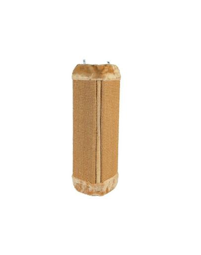 Drapak narożny 32 x 60 cm  brązowy