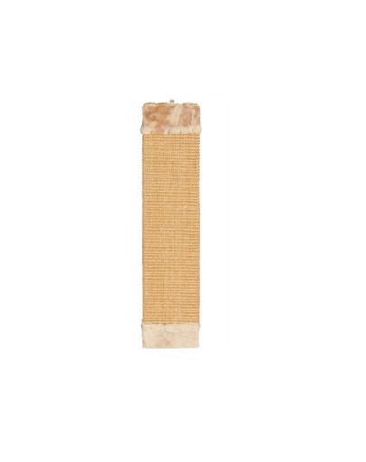 Drapak z pluszem 15 x 62 cm brązowy