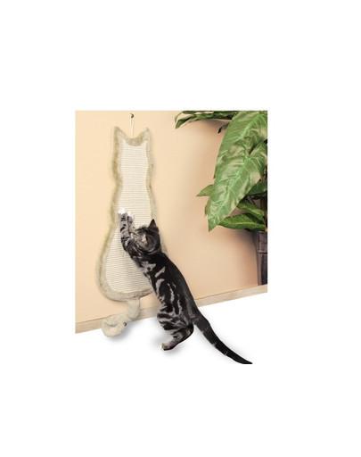 Drapak zawieszany - kot - 35 x 69 cm beżowy