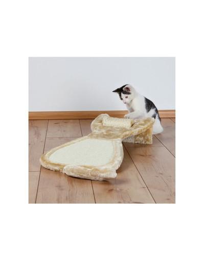 """Drapak dla kota """"Sizal"""" 34 x 67 cm beżowy"""