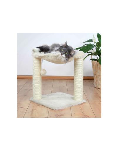 "Drapak dla kota ""Baza"" 50 cm kremowy"