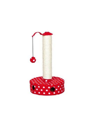 Drapak z piłką śr.27 x 45 cm czerwony