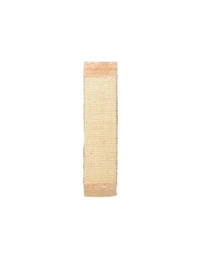 Drapak z pluszem 15 x 62 cm beżowy