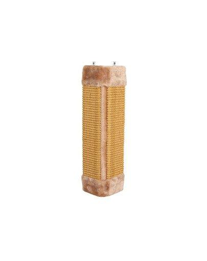Drapak narożny 23 x 49 cm beżowy
