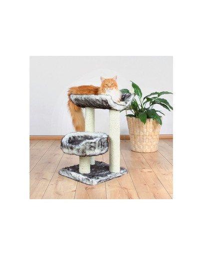 """Drapak dla kota """"Isaba"""" 62 cm czarno / biały"""