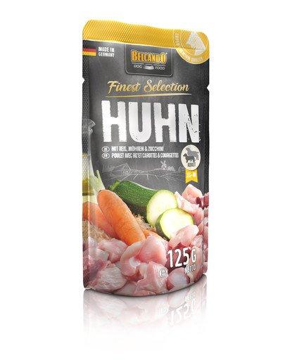 Finest Selection Kurczak, ryż i marchewka 125 g mokra karma dla psa