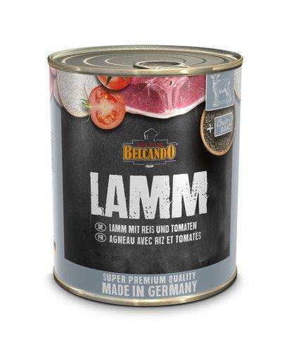 BELCANDO Super Premium Jagnięcina, ryż i pomidor 800 g mokra karma dla psa