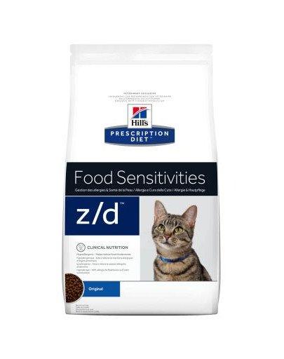 Prescription Diet Feline z/d Food Sensitivities 4 kg