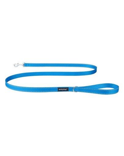 Smycz reflective xl 150/2.5m niebieska
