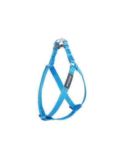 Szelki taśma basic n 30-55/1.5 cm niebieskie