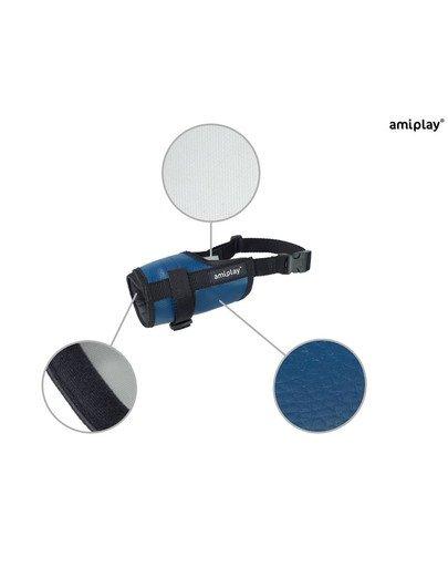 Kaganiec nr 2 Foxterrier niebieski