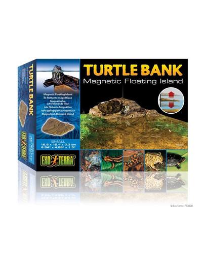 Wyspa dla żółwi mała z mocowaniem
