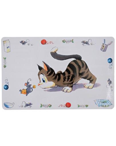 Podkładka pod miskę kot