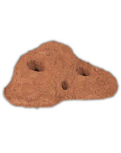 Piasek jaskinny do terarrium 5 kg czerowny