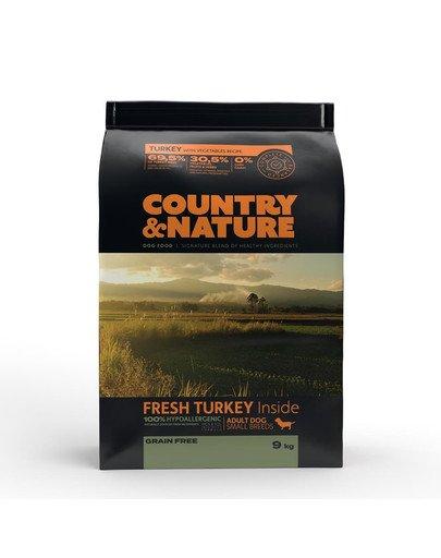 Turkey with Vegetables Recipe 9 kg Karma dla psów ras małych Indyk i warzywa