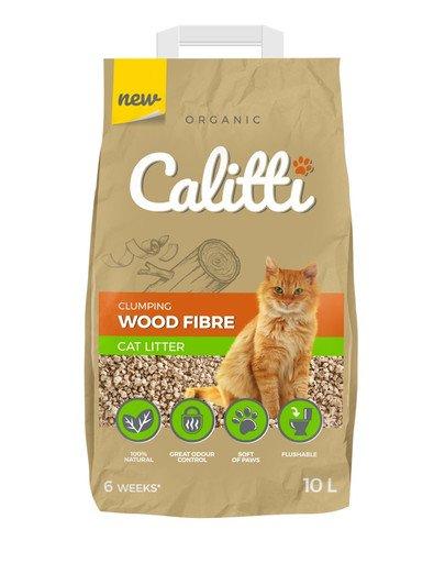 Wood Fibre Żwirek dla kota 10l