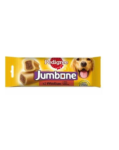 Jumbone (średnie psy) przysmak z wołowiną 180 g